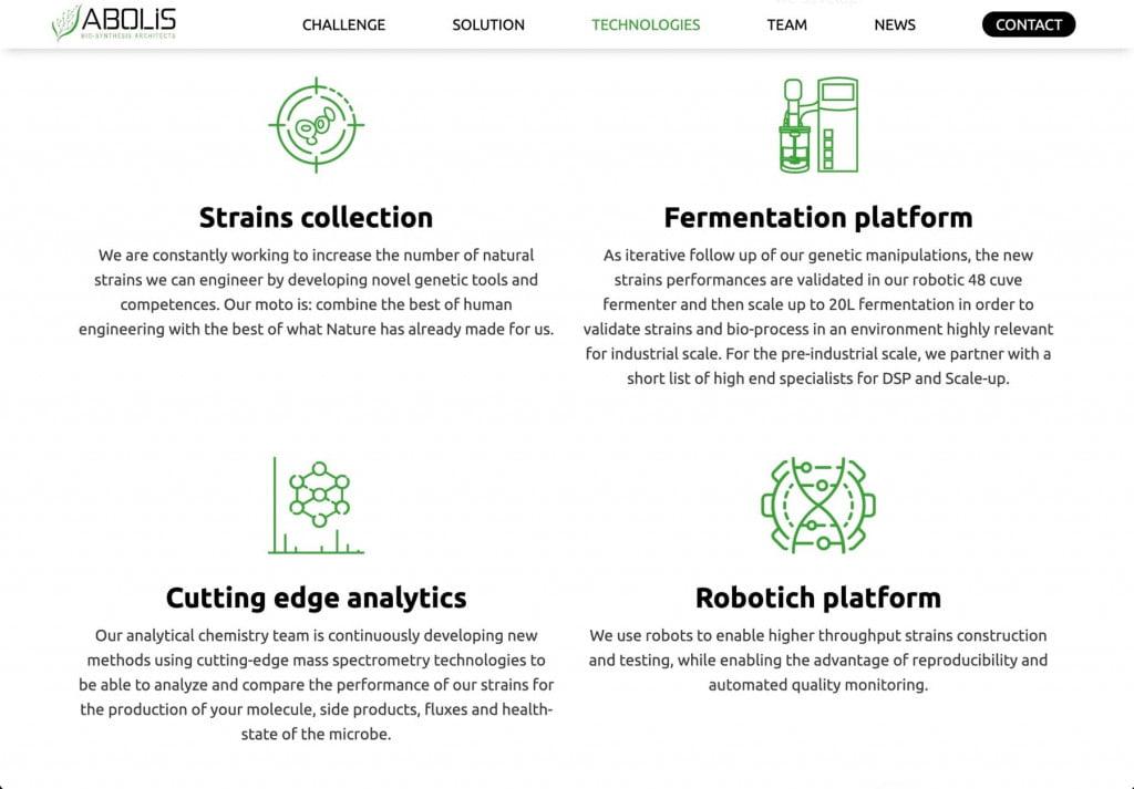 site internet grav cms, pictos personnalisés