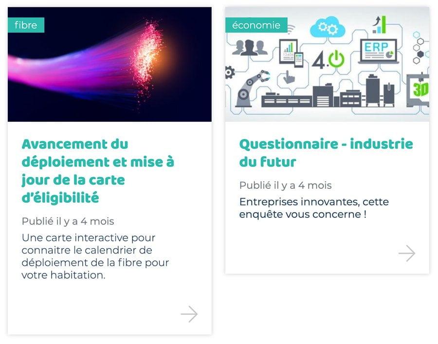 création de site Internet Essonne - actualités