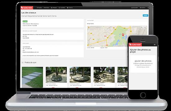 application web métier de suivi de projet