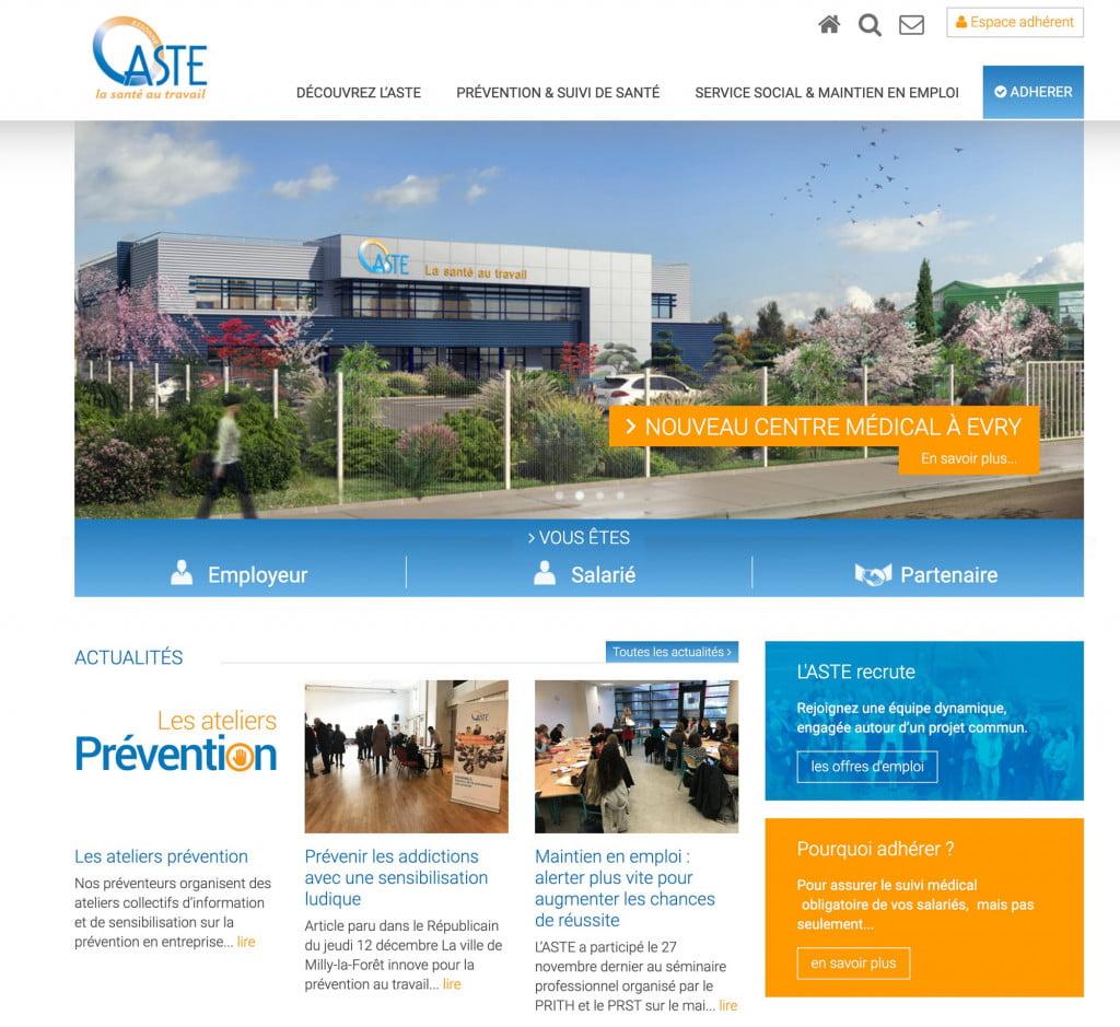 site internet et espace client - accueil