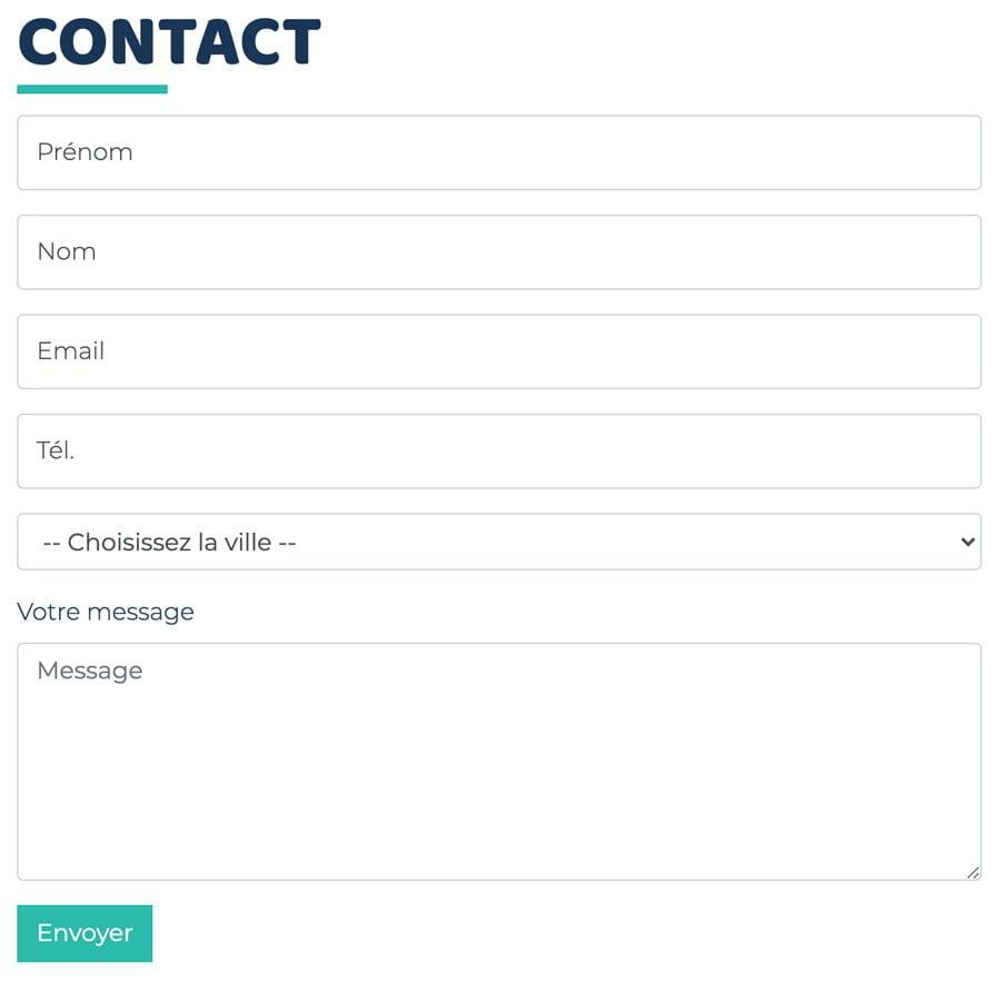 Call to action et création de site Internet